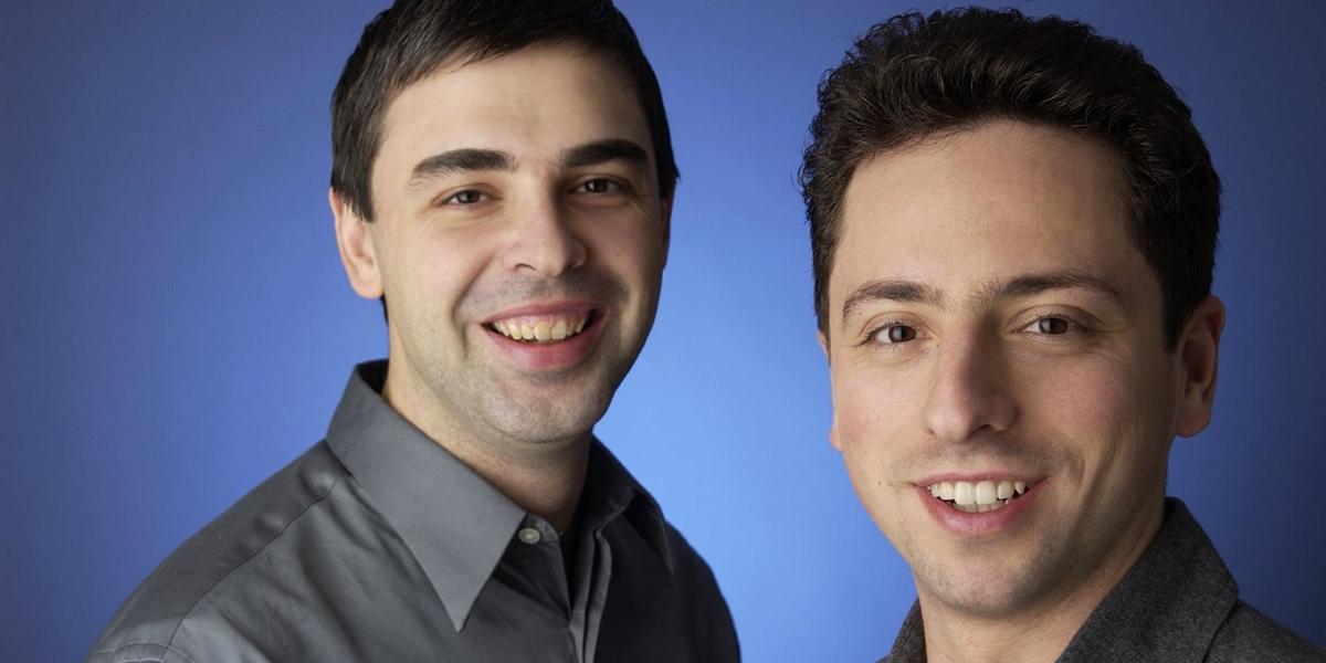 Larry Page och Sergey Brin (foto: Google)