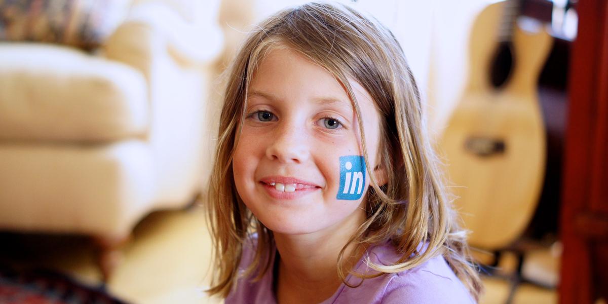Sponsra uppdatering på LinkedIn (foto: Michael Korcuska)